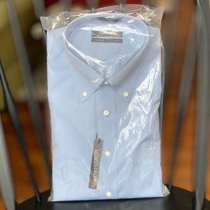 Nordstrom Mens light blue button down shirt